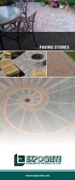 expocrete paving brochure - Expocrete Concrete Products Ltd.