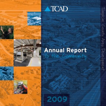 Annual Report 2009 - Tompkins County Area Development