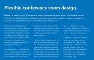 Flexible conference room design
