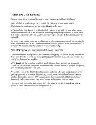 CPA Tactics Detail Review and CPA Tactics $22,700 Bonus