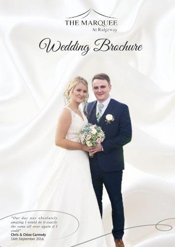 Wedding Brochure 2017