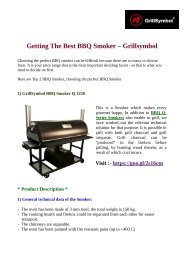 Getting The Best BBQ Smoker – Grillsymbol