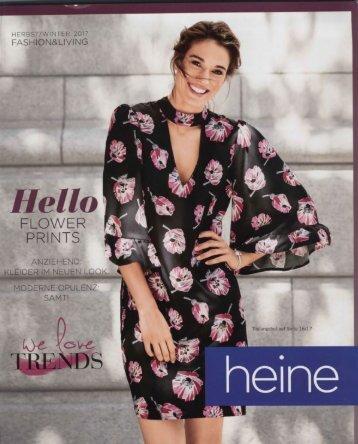 Каталог Heine осень-зима 2017. Заказ одежды на www.catalogi.ru или по тел. +74955404949