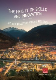 At the heart of Valais industry
