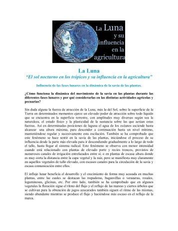 """La Luna """"El sol nocturno en los trópicos y su ... - Biodinamica"""