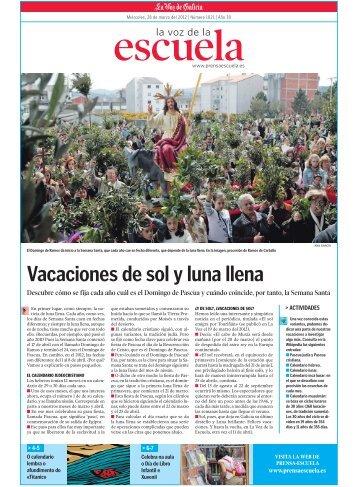 Vacaciones de sol y luna llena - Prensa-Escuela