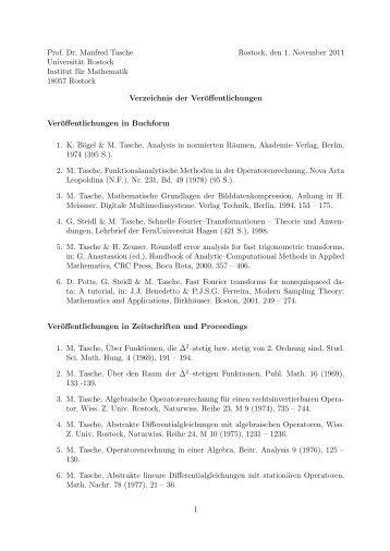 pdf-Format - Fachbereich Mathematik der Universität Rostock