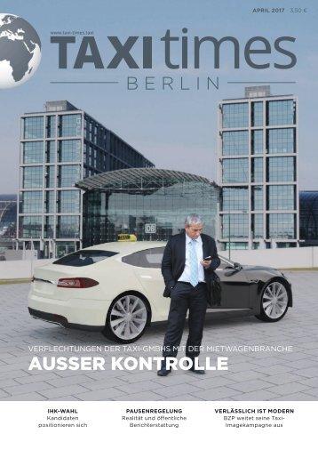Taxi Times Berlin - April 2017