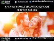 Booking today Escorts Partner in Chennai- VINIYER