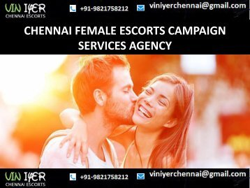 Booking today Escorts Partner in Chennai- VINIYER