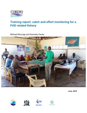 FAD Training Report-CORDIO_July 2016