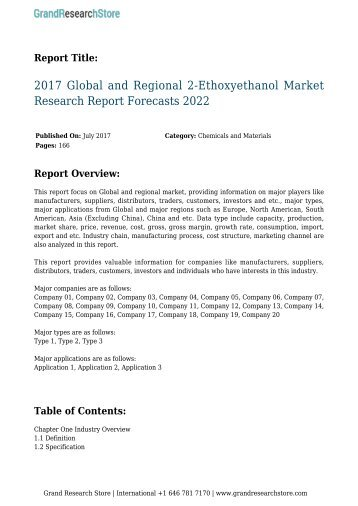 2017-global-and-regional-2-ethoxyethanol-market-research-report-forecasts-2022-grandresearchstore