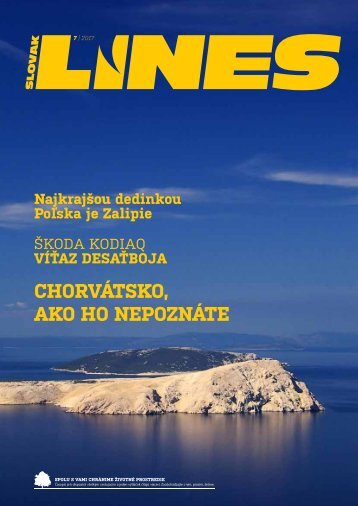In Drive magazín Slovak Lines 7 2017