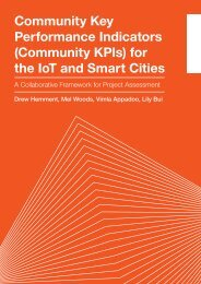 Community Key Performance Indicators (Community KPIs) for the IoT and Smart Cities