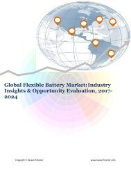 Global Flexible Battery Market (2017-2024)- Research Nester