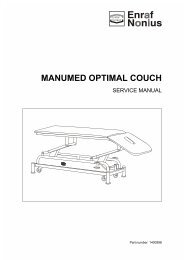 MANUMED OPTIMAL COUCH - MTR