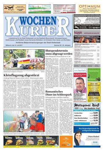 Wochen-Kurier 28/2017 - Lokalzeitung für Weiterstadt und Büttelborn