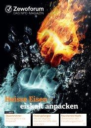Heisse Eisen – kalt anpacken: Zewoforum 2 | 2017
