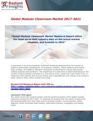 Modular Cleanroom Market Expansion Rate at 5.64