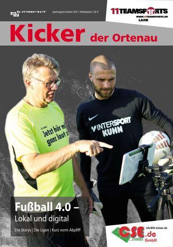 Kicker Sommer 2016/2017