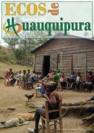 Revista HUAUQUIPURA Memoria 2016