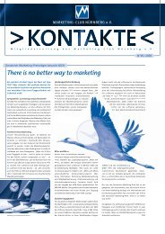 There is no better way to marketing - Marketing Club Nürnberg
