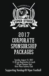 VSO 2017 Sponsorship Brochure V3