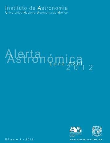 alerta luna azul - Instituto de Astronomía - UNAM