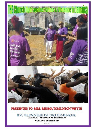 The Church fight against Crime pdf