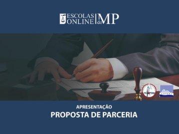 Apresentação Parceria Escolas do MP Associação do MP da Paraíba