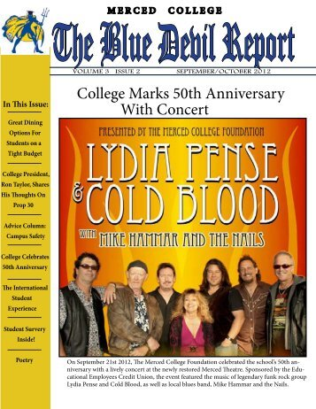 Volume 3 Issue 2 - Oct 2012 - Merced College