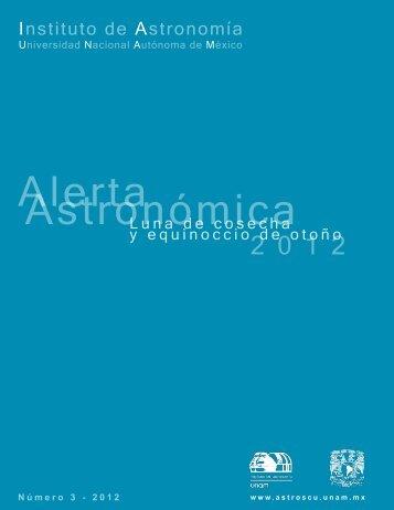 22 sept - Instituto de Astronomía - UNAM
