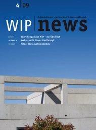 Ausgabe 4 - WIP Wissenschaftspark-Trier