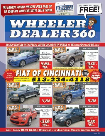 Wheeler Dealer Issue 28, 2017