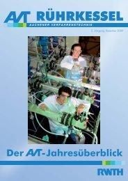 rührkessel - Aachener Verfahrenstechnik - RWTH Aachen University