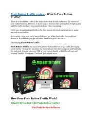 Push Button Traffic REVIEW & Push Button Traffic (SECRET) Bonuses