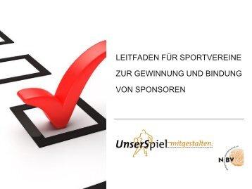 Leitfaden Sponsoring