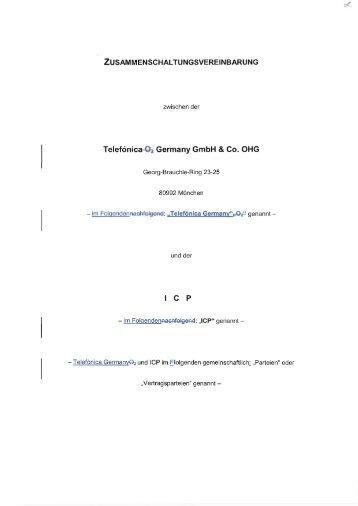 Hauptvertrag Standardangebot (pdf/1 MB ) - Bundesnetzagentur