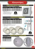 Eξαεριστήρες, καπάκια, περσίδες, σχάρες σιφωνιών - Page 4