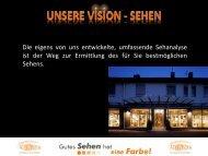 Unsere Vision - Sehen