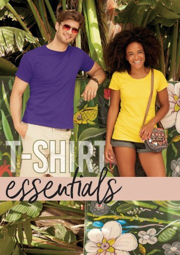 T shirt Essentials Brochure
