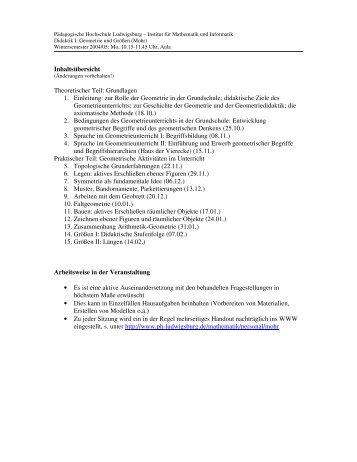 Inhaltsübersicht Theoretischer Teil: Grundlagen 1. Einleitung: zur ...