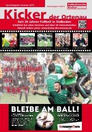 Kicker der Ortenau Sommer 2015/2016