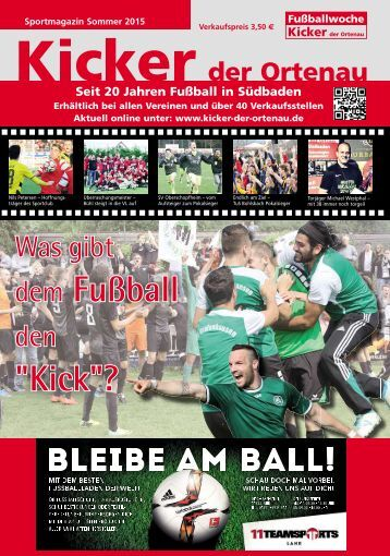 Kicker Sommer 2015/2016