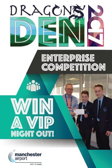 Manchester Airport Dragons Den 2017