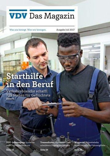 VDV Das Magazin Ausgabe Juni 2017