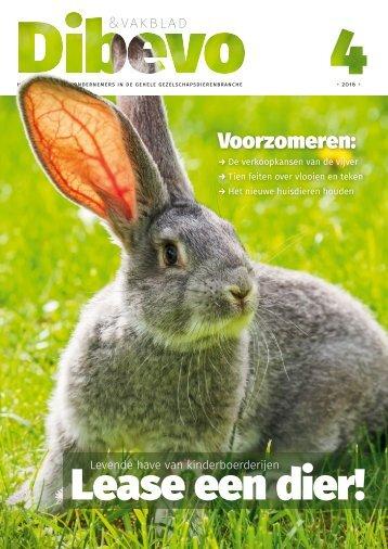 Dibevo-Vakblad nr 4 - 2016