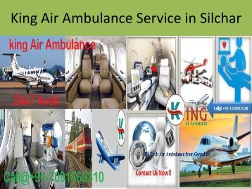 King Air Ambulance Service in Silchar