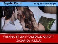 Hi Society Females SERVICES Chennai- Sagarikakumari
