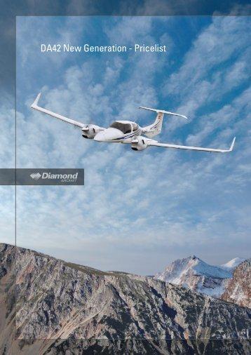 DA42 New Generation - Pricelist - Diamond Aero